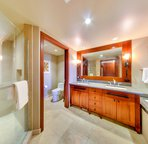 Dual Sinks in Your Spacious Master Bathroom