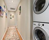 In-unit washer/dryer
