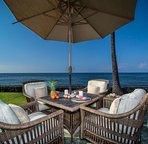 Ocean-side dining