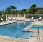 Pool, shared only with owners and guests of the condo complex.