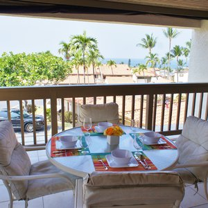 Ocean Views From Covered Lanai