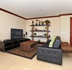 """Second """"Living Area"""" with a Large Flat Screen TV"""