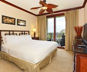 The Master Bedroom has a New King Size Bed and Separate Access to the Lanai