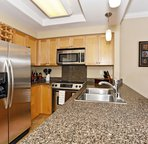 Kitchen with Stainless Appliances and Granite Counter