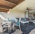 Spacious Lanai offers Outdoor Dining