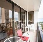 18th floor - 1 bedroom condo.      Enjoy the view from your own private balcony (Lanai).