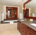Master Bath with Walk-in Shower and Large Soaking Tub