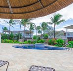 The Second Pool Area at Coconut Plantation