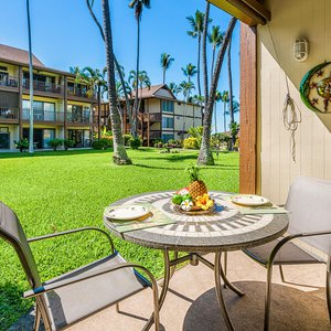 Enjoy the morning coffee or breakfast from your private lanai
