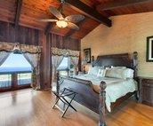 Master Bedroom with Ocean Views..