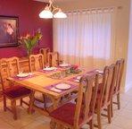 Dining Room adjacent to kitchen