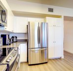 Large Kitchen with New Stainless Appliances