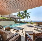 Spacious Lanai Features Covered Space with Comfortable Furnishings