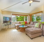 3 beds and 3 bathrooms with AC, massive lanai and....