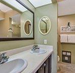 Double vanity sinks...