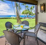 Private Lanai Offers Outside Dining