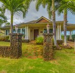 Old Hawaii Plantation Style Poipu Home with Guest Home!