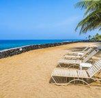 Ocean front beach area