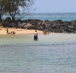 "Poipu beach also has a ""baby beach""  with protected waters for children"