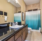 Shared bath with Bedrooms 3 & 4