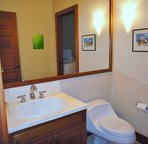 Half Bathroom and Laundry Room