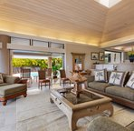 Living Area off Lanai to Pool