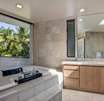 Jetted Master Bath With Ocean Views
