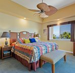 Master Bedroom with Cal King Bed