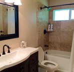 Newly Remodeled Downstairs Guest Bathroom