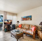 Lanai easily accessible from the living area