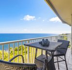 Watch for hump back whales and spinner dolphins right from your balcony.
