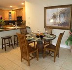 Open Dining and Breakfast Bar, Sits 4 Comfortably