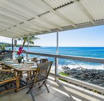 Large lanai to take in the Pacific Blue!