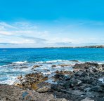 Alii Villas is an ocean front property. Easy walk to the ocean from the unit.