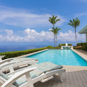 Lounge Poolside with Fantastic Ocean Views