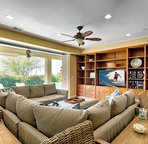Living Area with Indoor/Outdoor Living
