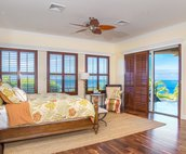 Master Bedroom with Gorgeous Ocean Views!