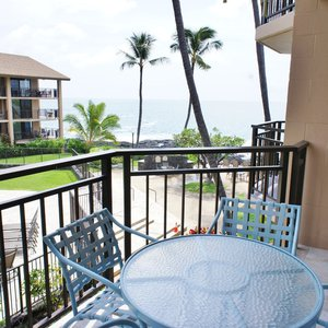 Lanai With Tropical Views Looking Into Complex