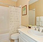 The Home has a Full Bath on the First Floor
