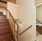 Stairs leading to the Living room