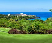 Views of Keauhou Bay and the Sheraton Hotel