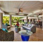 Covered Lanai Lounge Area