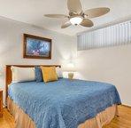 Master Bedroom with new Hardwood Floors