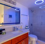 ambient lighting  in the bathroom