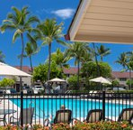 Keauhou Surf and Racquet pool area
