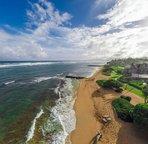 Sandy beach included!