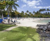 Access to the Beach Club provides beach chairs (first come basis)