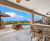 Covered lanai to enjoy outdoor living