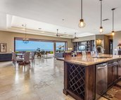 Open concept design perfect for family gatherings