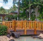 Entrance to the Main Pool at Coconut Plantation